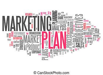 Word Cloud Marketing Plan - Word Cloud with Marketing Plan...