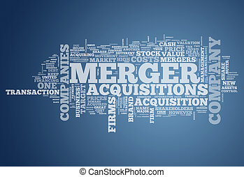 Word Cloud Merger & Acquisitions - Word Cloud with Merger & ...