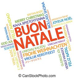 Ciao hello greeting in italian word cloud in different languages word cloud merry christmas in italian m4hsunfo