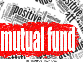 Word cloud mutual fund image with hi-res rendered artwork...