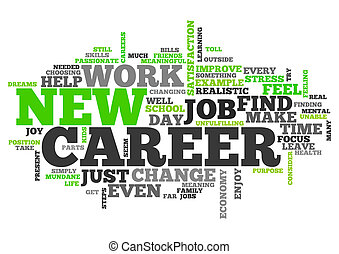 Word Cloud New Career