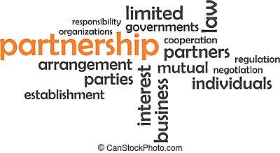 word cloud - partnership