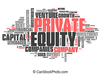 Word Cloud Private Equity - Word Cloud with Private Equity...