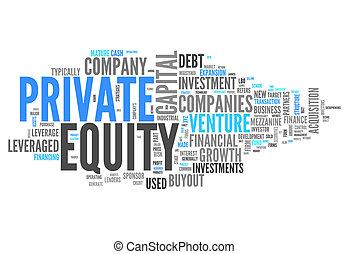 Word Cloud Private Equity - Word Cloud with Private Equity ...