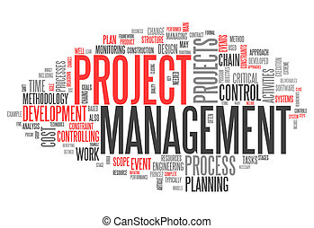 Word Cloud Project Management