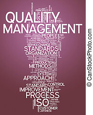 Word Cloud Quality Management