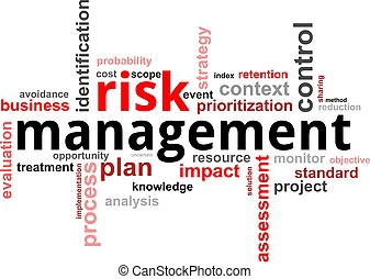 word cloud - risk management - A word cloud of risk ...