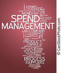 Word Cloud Spend Management