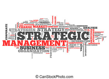 Word Cloud Strategic Management