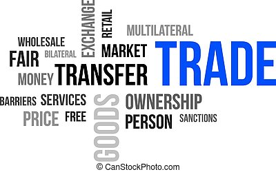 word cloud - trade