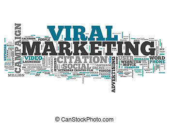 Word Cloud Viral Marketing