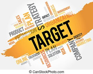 Word Cloud with Target