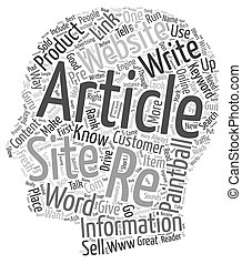 Word Content text background wordcloud concept