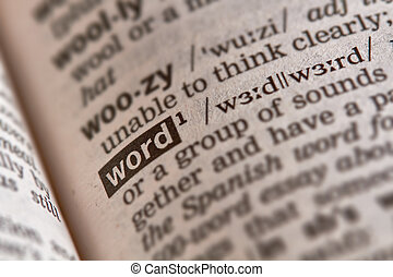 Word Definition Text