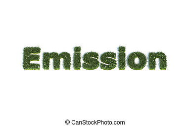 Word Emission out of Grass