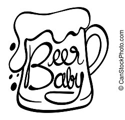 Word expressions for beer baby