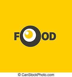 icon with fried eggs