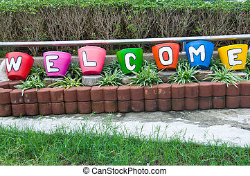 Word for welcome