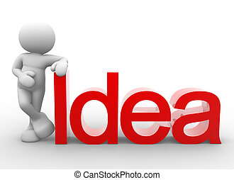 """Word """"idea"""""""