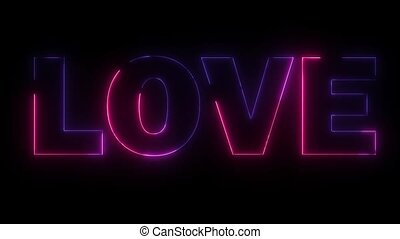 word love created by lasers and lights - word love created...