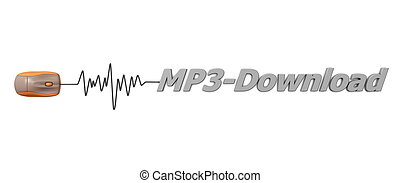 Word MP3 Download with Orange Mouse