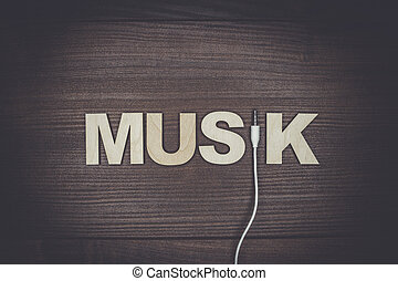 word music concept