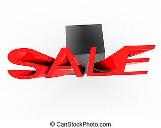 Word sale.