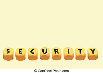 word Security on cubes