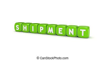 Word SHIPMENT.