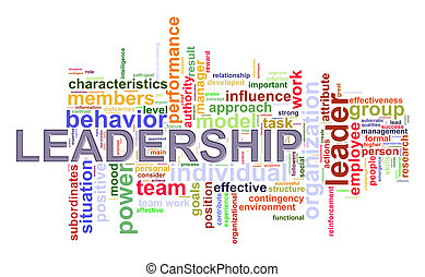 Word tags leadership wordcloud