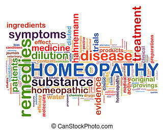 Illustration of diabetes word tags homeopathy