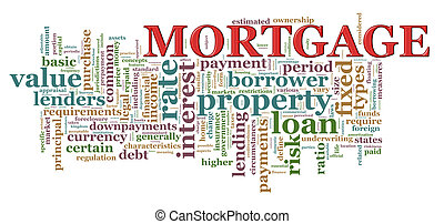 Word tags of Mortgage
