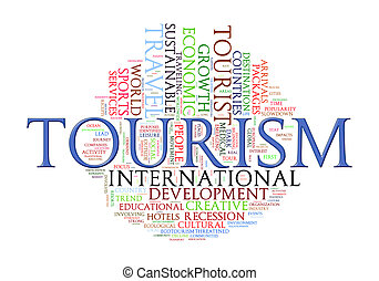 Word tags of Tourism