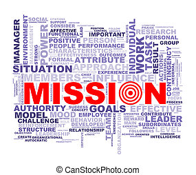 Word tags wordcloud of mission - Illustration of wordcloud...