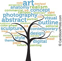 Word Tree - Art