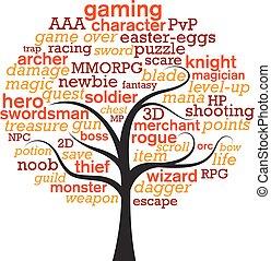 word tree-gaming