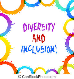 Word writing text Diversity And Inclusion. Business concept ...