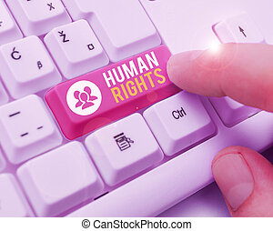 Word writing text Huanalysis Rights. Business concept for ...