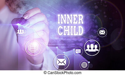 Word writing text Inner Child. Business concept for the ...