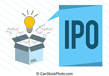 Write the steps involved in ipo cycle