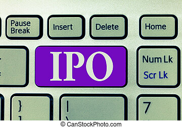 Sale of ipo stock