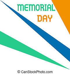 Word writing text Memorial Day. Business concept for remembering the military demonstratingnel who died in service Square rectangle paper sheet loaded with full creation of pattern theme.