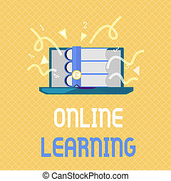 Word writing text Online Learning. Business concept for...