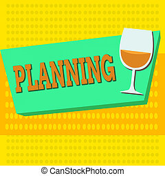Word writing text Planning. Business concept for achieving ...