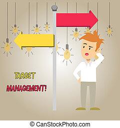 Word writing text Target Analysisagement. Business concept ...