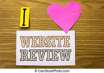 Business Review Website