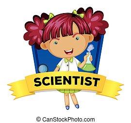 wordcard, cientista, femininas, ocupação