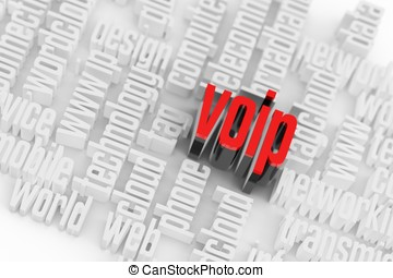 wordcloud, 概念, 3d, voip, 網際網路
