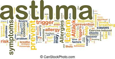 wordcloud, asthma