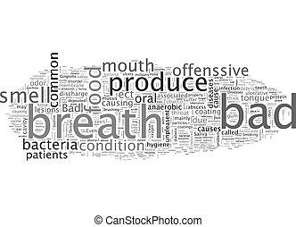 wordcloud, concetto, fondo, alito, testo, cattivo